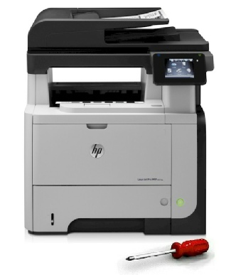 HP Hewlett Packard Printer repair specialists, servicing Printers, Multi-Function Printers, Photocopiers and Wide Format Printers