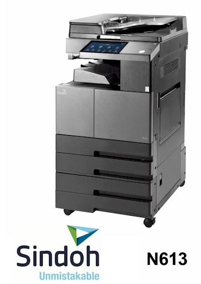 Sindoh N613 A3 Mono MFP Multi-Function Printer sales, supplier We can supply, install support fast mono, black and white printers in East Sussex, West Sussex, Surrey and Kent.